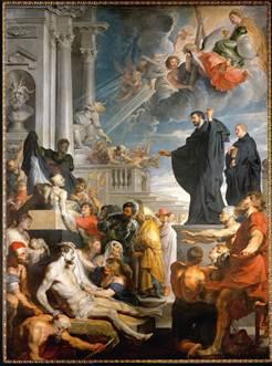 A Fallen Hindu Idol In Antwerp Rubens S Miracles Of St